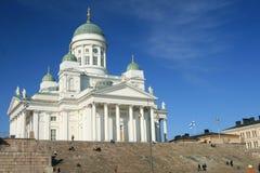 Senaatori quadratische Kirche in Helsinki Lizenzfreie Stockfotos