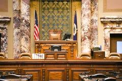 Senado de Minnesota fotografía de archivo