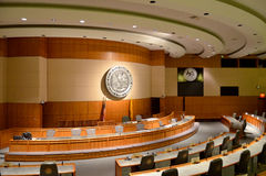 Senado de New México Imagenes de archivo