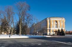 Senado do Kremlin em Moscou fotografia de stock royalty free