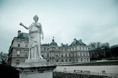 Senado, París foto de archivo