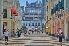 Senado Square Royalty Free Stock Image