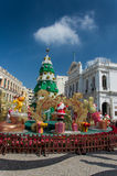 Senado Square, Macau. Royalty Free Stock Image