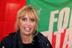 Senador Alessandra Mussolini Fotografía de archivo libre de regalías