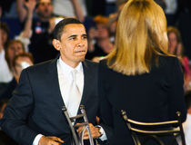 Senador Barack Obama Fotografía de archivo libre de regalías