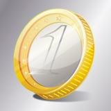 Senador de la moneda de oro Imagenes de archivo