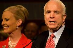 Senador Juan McCain Fotografía de archivo