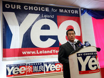 Senador Leland Yee File Photo del estado de California Fotografía de archivo libre de regalías