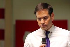 Senador Marco Rubio del candidato presidencial imágenes de archivo libres de regalías