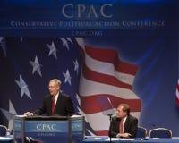 Senador Mitch Mcconnell en CPAC 2011 Fotos de archivo libres de regalías
