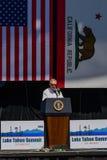 Senador Reid en la vigésima cumbre anual 5 del lago Tahoe Fotos de archivo