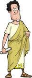 Senador romano Imágenes de archivo libres de regalías