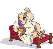 Senador romano que se divierte Fotografía de archivo
