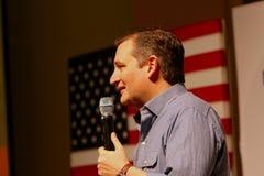 Senador Ted Cruz del candidato presidencial imagenes de archivo