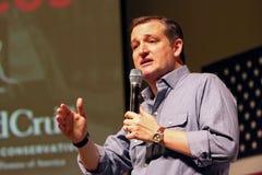 Senador Ted Cruz del candidato presidencial fotografía de archivo libre de regalías