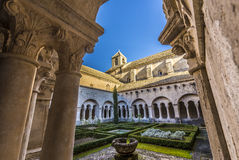 Senanque abbey Royaltyfri Bild