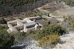 Senanque Abbey Abbaye Notre-Dame de Senanque. A Cistercian abbey near the village of Gordes Stock Images