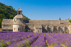 Senanque Abbey Royalty Free Stock Photography