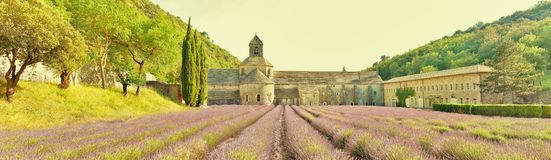 Senanque abbey, France Stock Photo