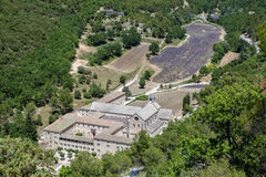 Senanque Abbey Provence France Imagen de archivo