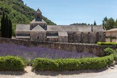 Senanque Abbey Provence France Arkivbild