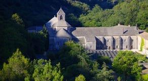 Senanque abbotskloster i Provence Arkivbild