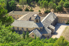 Senanque Abtei, Provence, Frankreich Stockbilder