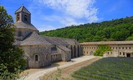 Senanque-Abtei in Provence Lizenzfreie Stockfotografie