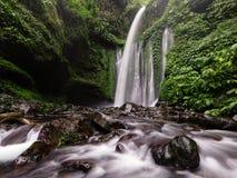 Senaru Waterfall royalty free stock image