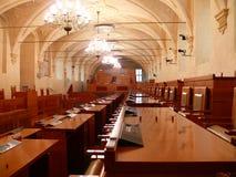 Senat av parlamentet av Tjeckien Royaltyfria Bilder