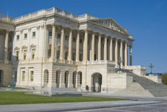 The Senate. Side of the Capitol Building Royalty Free Stock Photo