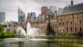 Senate building of the Dutch parliament complex Stock Photos