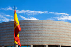 Senate Building in Madrid Royalty Free Stock Image