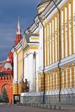 Senate building in Moscow Kremlin Stock Photography