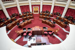 Senate chambers in the Idaho State Capital Royalty Free Stock Photo