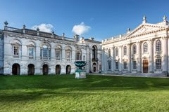 The Senate House in Cambridge Royalty Free Stock Photo