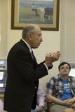 Senate Judiciary Chairman Charles Grassley addresses constituents Stock Photos