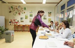 Senate and regional elections in Czech republic Stock Photography