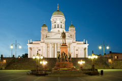 Senate square in Helsinki Royalty Free Stock Photography
