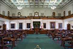 The senate of Texas Capitol Stock Photos