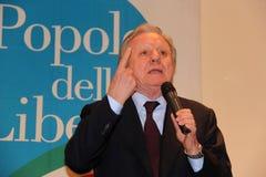 Senator Altero Matteoli Royalty Free Stock Photos