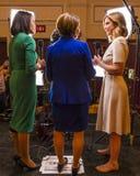 Senator Amy Kobuchar interviews Democratic Presidential Candidates at NBC / DNC Presidential Debate