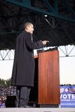 Senator Barack Obama Royaltyfria Foton