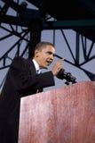 Senator Barack Obama. US Senator Barack Obama speaking at Change We Need Presidential rally, October 30, 2008 at Verizon Wireless Virginia Beach Amphitheater in Royalty Free Stock Photography