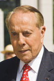 Senator Bob Dole (Kansas). Bob Dole captured while attending a World War II veterans reunion royalty free stock images