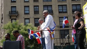 Senator Charles Rangel At The 2014 Bronx Dominican Day Parade 1 Royalty Free Stock Photography