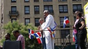 Senator Charles Rangel At The 2014 Bronx Dominican Day Parade 1 Royalty Free Stock Photography