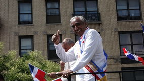 Senator Charles Rangel At The 2014 Bronx Dominican Royalty Free Stock Photo
