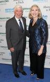 Senator Chris Dodd, Jackie Marie Clegg Stock Images