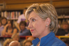 Senator Clinton pensive Royalty Free Stock Photography